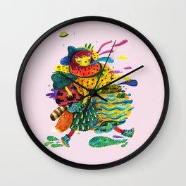 Dreamwalking Wall Clock