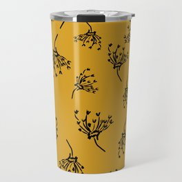 Mustard Leaf Travel Mug