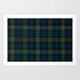 Campbells Of Argyll Art Print