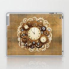 Steampunk Vintage Style Clocks and Gears Laptop & iPad Skin