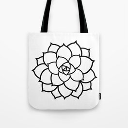 Simple Succulent Tote Bag