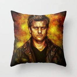 Peter Bishop - Fringe Throw Pillow