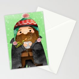 Magical Christmas/Hagrid Stationery Cards
