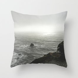 Ocean Emotion - nature photography Throw Pillow