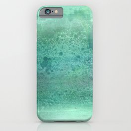 Sky water -Green- iPhone Case