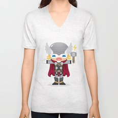 THOR ROBOTIC Unisex V-Neck