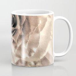 Rose Flower & Pearls Modern Cottage Decor Modern Country Art A432 Coffee Mug
