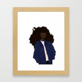 Witch pal Framed Art Print