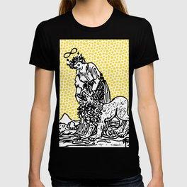 Modern Tarot Design - 8 Strength T-shirt