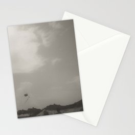 Kite Flying on the Shores of North Carolina Stationery Cards