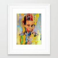 tchmo Framed Art Prints featuring Untitled 20150303w by tchmo