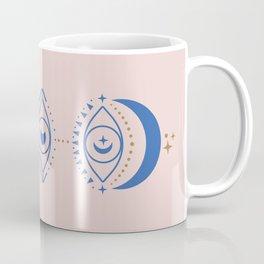 Eyes Moon Phases Coffee Mug