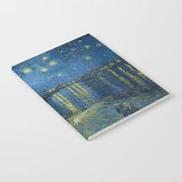Van Gogh Starry Night Over the Rhone Notebook