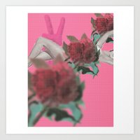 tote Art Prints featuring tote by Taylor Alley