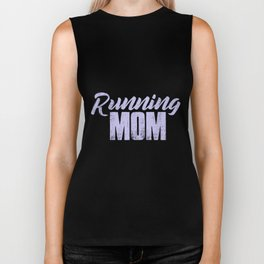 Running Mom | Runner Gift Woman Runner Mom Girl Biker Tank