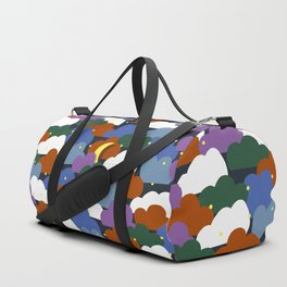 colorful night Duffle Bag