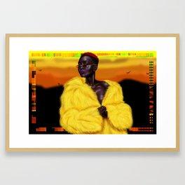Black Pride Framed Art Print