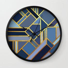 Art Deco Drops Of Jupiter Wall Clock