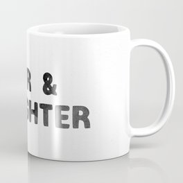 LOVER AND A FIGHTER - ink Coffee Mug