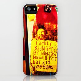 Kidnapped iPhone Case