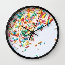 Sprinkles Party II Wall Clock