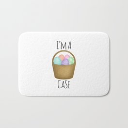 I'm A Basket Case Bath Mat