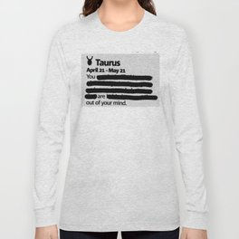 Taurus 1 Long Sleeve T-shirt