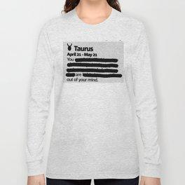 Taurus 1 Long Sleeve T-shirt