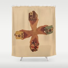Kodak Brownie Hawkeyes Shower Curtain