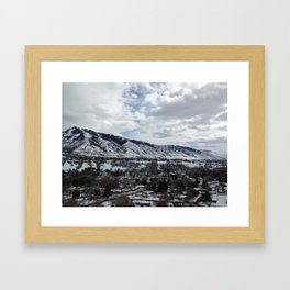 The World can be Beautiful sometimes... Framed Art Print