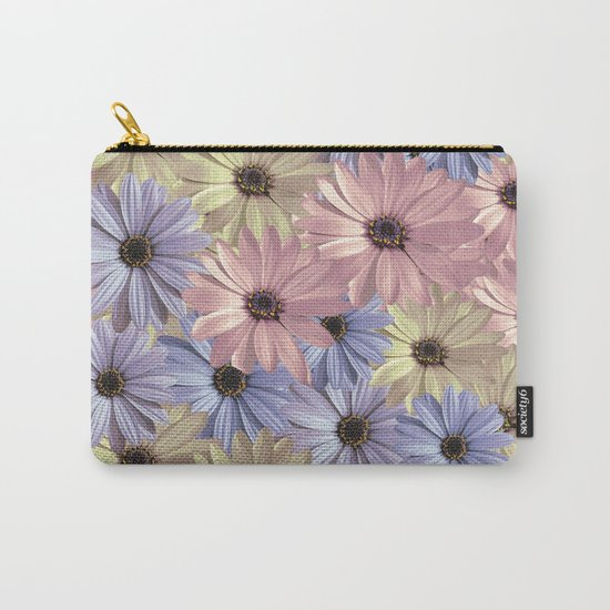 Pink Yellow Blue Carry-All Pouch