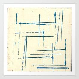 just more lines Art Print