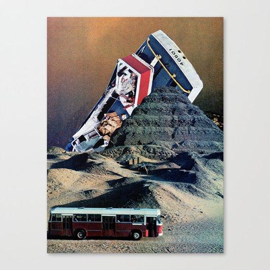 The big boat Canvas Print