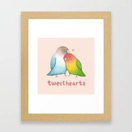 Tweethearts Framed Art Print