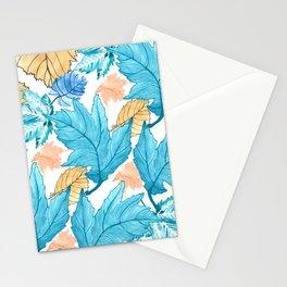 Leaf pattern 2 Stationery Cards