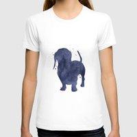 dachshund T-shirts featuring Dachshund by Carma Zoe