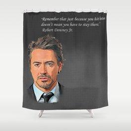 Robert Downey Jr Desain 006 Shower Curtain