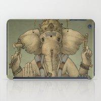 ganesha iPad Cases featuring Ganesha by Sumi Senthi