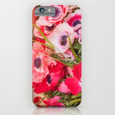 Anemones  and Bumblebee 5946 Slim Case iPhone 6s