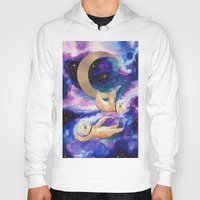 sloths Hoodies featuring Sloths in Space by Kamina