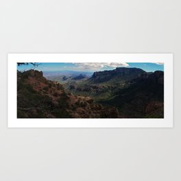 Big Bend National Park, TX Art Print