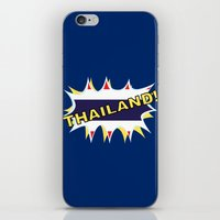 thailand iPhone & iPod Skins featuring Thailand by mailboxdisco