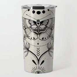 Magical Moth Travel Mug