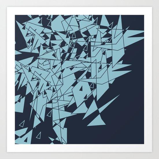 Glass DB Art Print