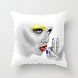 + DARKEST PLACE + Throw Pillow