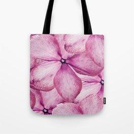 Big Pink Flowers Tote Bag