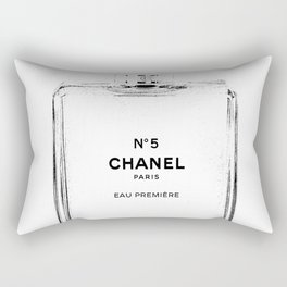 Fashion illustration sketch Rectangular Pillow
