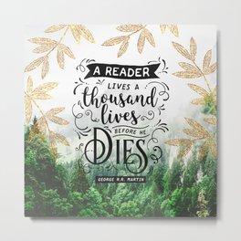 Thousand Lives Metal Print