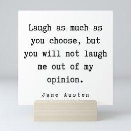 22    | Jane Austen Quotes | 190722 Mini Art Print
