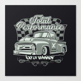 Classic Vintage truck Canvas Print